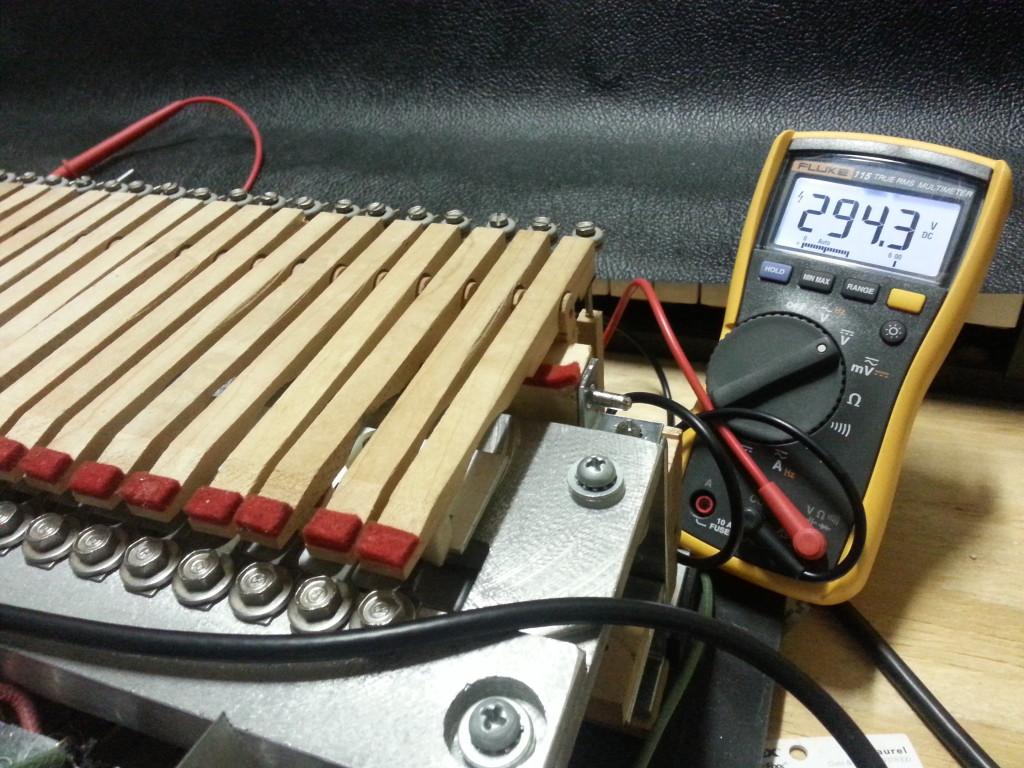 Wurlitzer Reed Bar Voltage