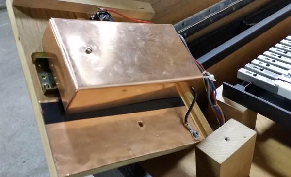 Clavinet D6 Copper Amplifier Shielding