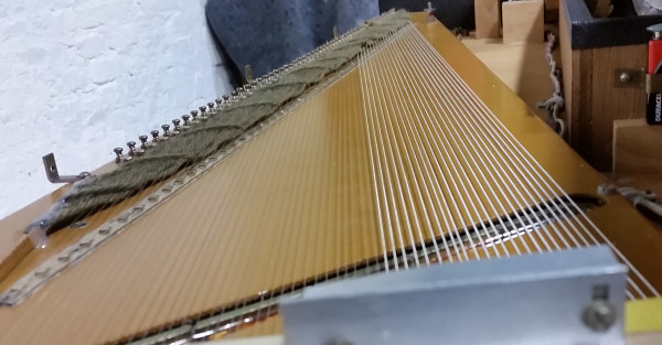 Clavinet Strings and Yarn