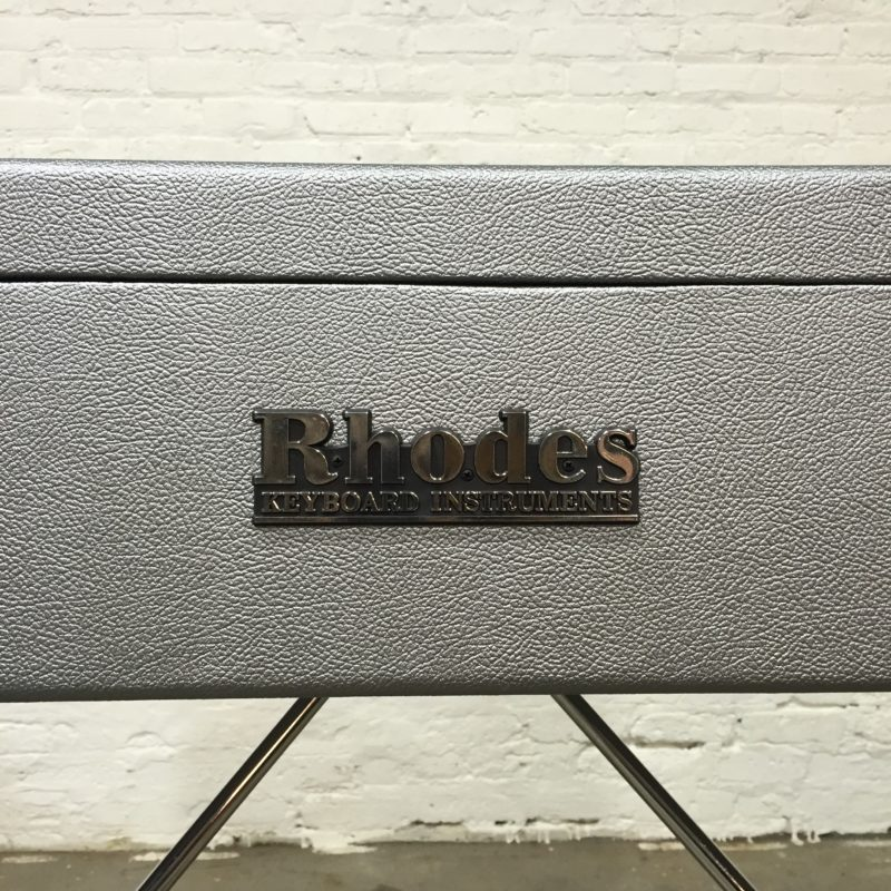 Rhodes Mark I Silver Back Logo